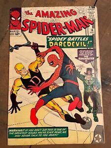 AMAZING SPIDER-MAN 16 FINE-/FINE FIRST DAREDEVIL CROSSOVER