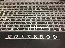 VW AirCooled VolksRod Script Emblem   Prt# VRD196
