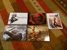 Video Game Art Book Pre-Order Bonus Lot of 5 Assassin's Devil May Viking Gears