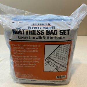 U Haul King Size Mattress Bag Set With Built In Handles