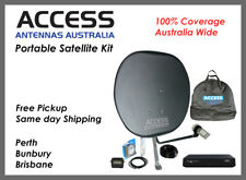 Deluxe Caravan Satellite Dish TV Kit - Pickup available - Same day shipping