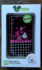 Disney Minnie Mouse Phone Clip Case and Screen Guard for HTC Droid Incredible 2