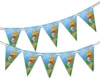 Cute Knight & Castle - Bunting 15 flags for Unique Decoration by Party Decor