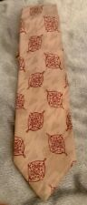 "VERY RARE- Mafia Mobster-Gangster BEN ""BUGSY"" SIEGEL, Personal SILK Pattern tie"