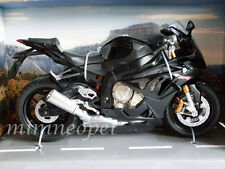AUTOMAXX 606201 2014 BMW S1000 RR BIKE MOTORCYCLE 1/12 BLACK