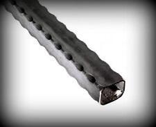 Profilrohr 40x40 mm gehämmert 2000 mm Stahlrohr Zaunbau Schmiedeeisen 21-040-2