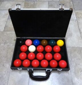 """Cue & Case Man """"Snooker Ball Carry Case"""" Highest Quality Guaranteed. UK Stock."""