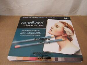 Spectrum Noir AquaBlend Watercolour Pencils - Essentials (Tin of 23) READ!