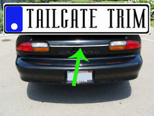 Chevy CAMARO Z28 1993 - 2002 Chrome Tailgate Trunk Trim Molding