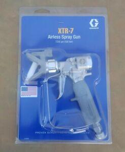 GRACO XTR-7 INDUSTRIAL AIRLESS SPRAY GUN,7250 psi Heavy Duty Paint Sprayer