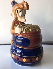 Disneys Aladdin - Abu - Ceramic Coin Bank - Vintage - *Excellent Condition*