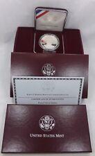 1998 US Mint Robert F. Kennedy Memorial Proof Silver Dollar w/ Box & COA (T1103)