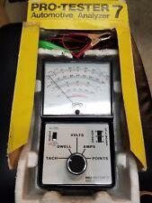Dixco model 1402/7 Pro Tester 7 Automotive Analyzer tune-up / tester dwell meter