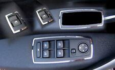 D BMW X3 E83 Chrom Rahmen für Schalter Fensterheber - Edelstahl poliert