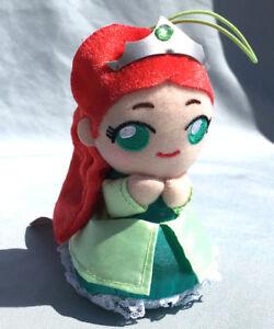"Disney Little Mermaid Princess Ariel 5"" Plush New Japan Stuffed Chibi Kawaii"