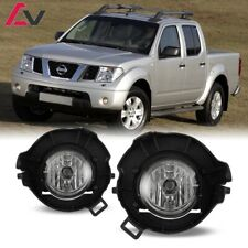 For Nissan Frontier 05-09 Clear Lens Pair Bumper Fog Light Lamp OE Replacement