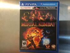 Replacement Case (NO GAME) Mortal Kombat - PS Vita