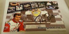 Handsignierte Ak von Thierry Boutsen im Format 10x15