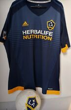 LA Galaxy MLS Adidas Men's Navy Blue Official Climacool Team Replica Jersey