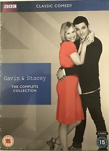 GAVIN AND STACEY - SERIES 1 - 3 + CHRISTMAS SPECIALS  NEW SEALED DVD BOX SET