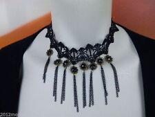 Markenlose Bronze Modeschmuck-Halsketten & -Anhänger aus Acryl für Damen