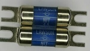 Lawson 415v 4A 80kA NIT6A Lugged Cartridge Fuse Link, Industrial Commercial