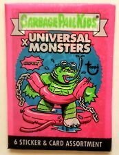 2019 Super7 Garbage Pail Kids x Universal Monsters Pink Wax Pack(White Foot)