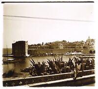 Croazia Dubrovnik c1930 Foto Placca Da Lente Stereo Vintage VR16L17n13