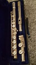 Vintage  W.T. Armstrong Model 104 Silver  Closed Hole Learning Flute made in USA