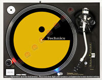 TECHNICS PACMAN - DJ SLIPMAT 1200's turntable or any record player