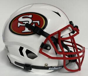 San Francisco 49ers Custm Full Size Authentic Schutt  Vengeanc Football Helmet !