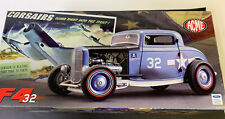 1:18 GMP ACME F4 32 1932 FORD DEUCE Coupe HOT ROD G1805022 DIE CAST WWll Car AER