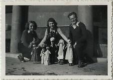 PHOTO ANCIENNE - VINTAGE SNAPSHOT - MARIONNETTE JOUET POUPÉE - PUPPET TOY DOLL