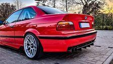 BMW E36 E46 E39 M-Technik Heckdiffuser Diffusor hinten Universal E30 M3 M5