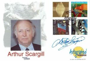Arthur SCARGILL Signed Autographed Editions FDC COA AFTAL Mine workers Union