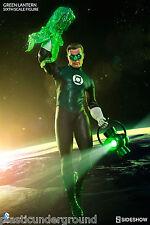 "NEW SIDESHOW DC COMICS GREEN LANTERN HAL JORDAN 12"" FIGURE 1/6 SCALE JLA COMIC"