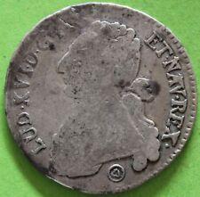 FRANCE LOUIS XVI 1/2 ECU AUX BRANCHES D'OLIVIER 1776 Q
