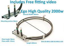 EGO Fan Oven Element 2000W Whirlpool, Bauknecht, Ignis Ikea, KitchenAid,