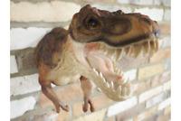 Stunning Lifelike Jurassic Park T Rex Dinosaur Statue Ornament Wall Sculpture