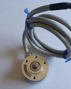 Rotary encoder 5 VDC, 3 double channels 3600ppr - crifix