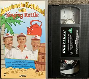 ADVENTURES IN KETTLELAND WITH THE SINGING KETTLE-VHS VIDEO.