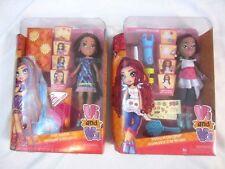 """Vi and Va Viviana Designer 9"""" Doll & Valentina Stylist 9""""Doll  Lot #2 NIB"""