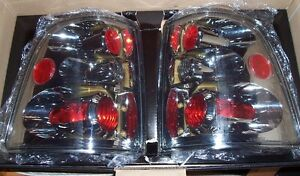 New IPCW Chrome Euro Tail Lights CWT-CE510CC for 2002-2005 Ford Explorer 4-door