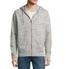 Men's St. Johns Bay Mens Long Sleeve Hoodie Color:Grey Slub Heather, Size:Medium