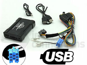 Alfa Romeo GT USB adapter interface CTAARUSB001 car AUX SD input MP3 3.5mm jack