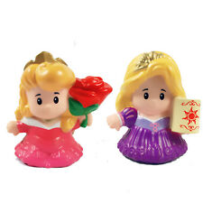 Fisher Price Little People - Disney Princess - Aurora & Rapunzel Doll Toys