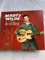Marty Wilde - The Full Marty - 3CD Fat Box