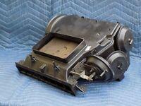 Center Vent Heater Core Box Extension w/ Vacuums OEM 1990 C4 Corvette