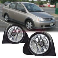 For 2003-2005 Toyota Echo Winjet OE Factory Fit Fog Light Bumper Kit Clear Lens