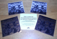 SWEDISH HOUSE MAFIA Until Now 4 PROMO STICKERS for cd MIRRORED EFFECT All Mint!